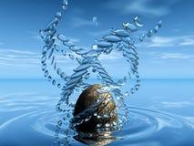 каменная вода бесплатная иллюстрация