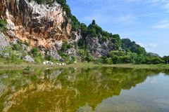 Каменная гора Стоковые Изображения RF