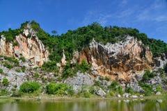 Каменная гора Стоковые Фотографии RF