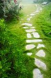 каменная дорожка Стоковые Фото