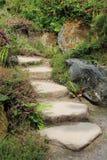 Каменная лестница стоковое фото