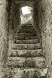 Каменная лестница Стоковое фото RF