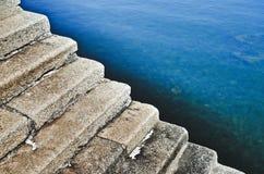 Каменная лестница стоковые фотографии rf