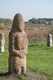 Каменная женщина Стоковые Изображения RF