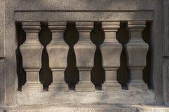 Каменная загородка штендера Стоковая Фотография