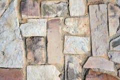 Каменная картина пола Стоковая Фотография