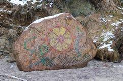 Каменная картина Стоковое фото RF