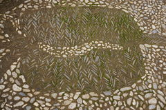 Каменная картина стоковая фотография rf