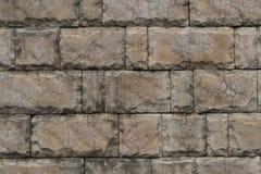 Каменная кирпичная стена текстуры плитки Стоковая Фотография RF