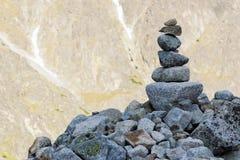 Каменная куча стоковая фотография rf