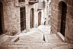 Каменная лестница стоковая фотография