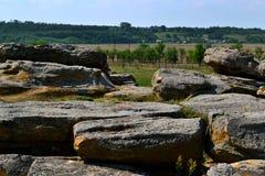 Каменная могила Стоковое Фото