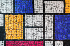 Каменная мозаика tiling Текстура фото предпосылки Стоковые Изображения