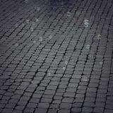 Каменная мостоваая при пузыри мыла плавая вокруг винтажного влияния Стоковая Фотография RF