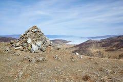 Каменная насыпь стоковое фото rf