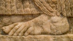 Каменная нога Стоковые Изображения RF