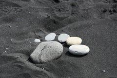 Каменная нога Стоковые Фотографии RF