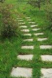 Каменная дорожка Стоковая Фотография RF