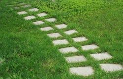 Каменная дорожка Стоковое Изображение RF