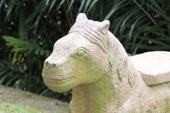 Каменная лошадь Стоковое фото RF