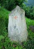 Каменная памятная доска Стоковое Изображение