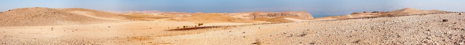 Каменная панорама пустыни стоковые фото