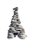 Каменная пирамидка Стоковое фото RF