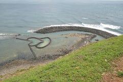 каменная плотина Стоковое фото RF