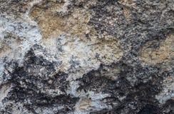 Каменная поверхность в крупном плане Стоковое Изображение