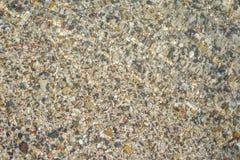 Каменная поверхность на пляже Стоковые Фото