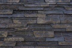 Каменная поверхность покрытая с тонким листом воды Стоковые Фото