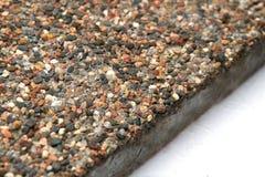 Каменная поверхность с мраморными обломоками Стоковая Фотография