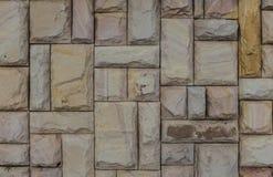 Каменная предпосылка картины природы стены мрамора камня крупного плана текстуры Стоковые Фотографии RF