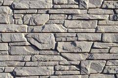 Каменная предпосылка кирпича Стена masonry щебня Каменная стена сделанная  стоковые изображения