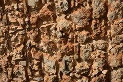 Каменная предпосылка, неровная текстура Стоковая Фотография RF