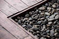 Каменная предпосылка текстуры Стоковое Изображение