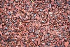 Каменная предпосылка щебня Стоковая Фотография