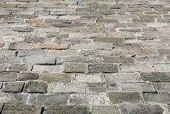 Каменная проезжая часть блока Стоковая Фотография RF