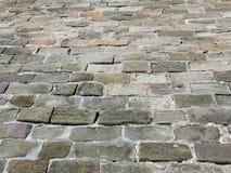 Каменная проезжая часть блока Стоковое Фото