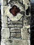 Каменная проиллюстрированная стена Стоковая Фотография