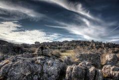 Каменная пустыня Стоковое фото RF