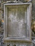 Каменная рамка на скалистой стене Стоковые Изображения RF