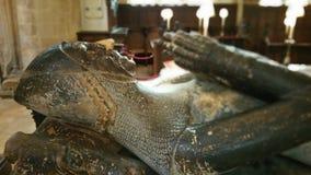 Каменная скульптура человека Стоковое Изображение