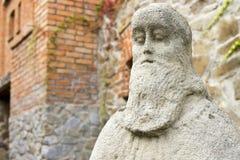 Каменная скульптура шалфея Стоковые Фотографии RF