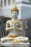 Каменная статуя божества стоковые изображения rf