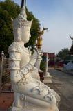 Каменная статуя божества стоковая фотография rf