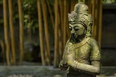 Каменная статуя в виске Mendut, Индонезии Стоковое фото RF
