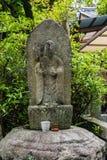 Каменная статуя монаха Будды Стоковое фото RF
