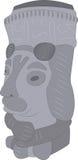 Каменная статуя монаха Стоковые Фото