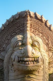 Каменная статуя льва Стоковые Фото